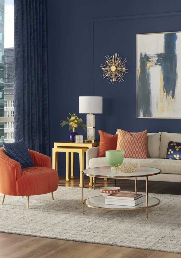 Color schemes with navy add color to your color schemes